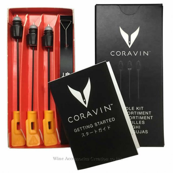 CORAVIN コラヴァン ニードル アソート 3本セット【正規品】 CRV2005