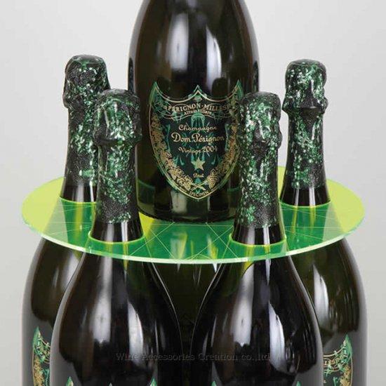 シャンパンタワープレート(ボトルのタワー化プレート)RJ153PC