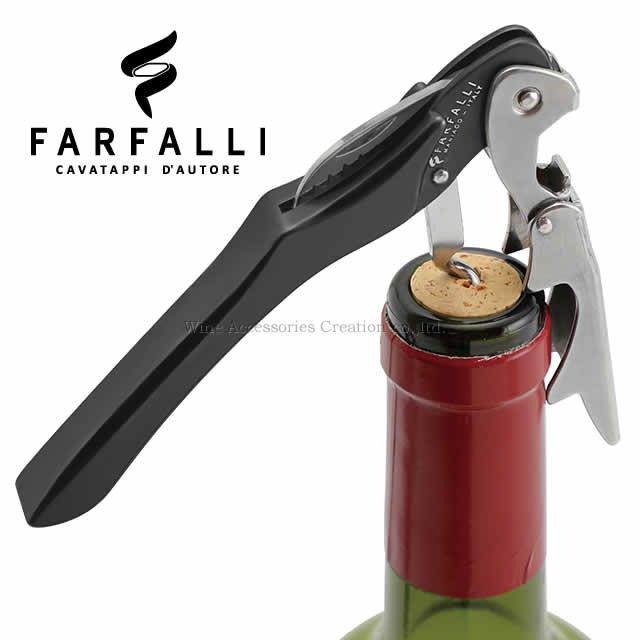 Farfalli XL ガリバー ソムリエナイフ アルミハンドル ブラック SC106BK