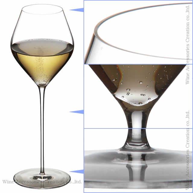 WINEX/HTT ソフィア シャンパン/デザートワイン グラス 2脚セット【正規品】 GH310KCx2