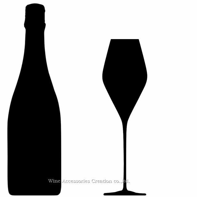 WINEX/HTT ソフィア フルート シャンパングラス 6脚セット【正規品】 GH311KCx6