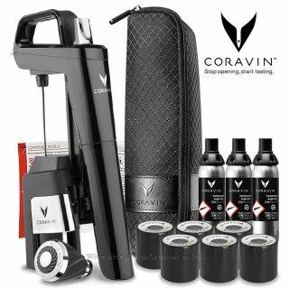 【NEW2021】CORAVIN コラヴァン Timeless タイムレス モデル6+ ピアノブラック 【メーカー保証+WAC保証=3年保証】 CRV1022