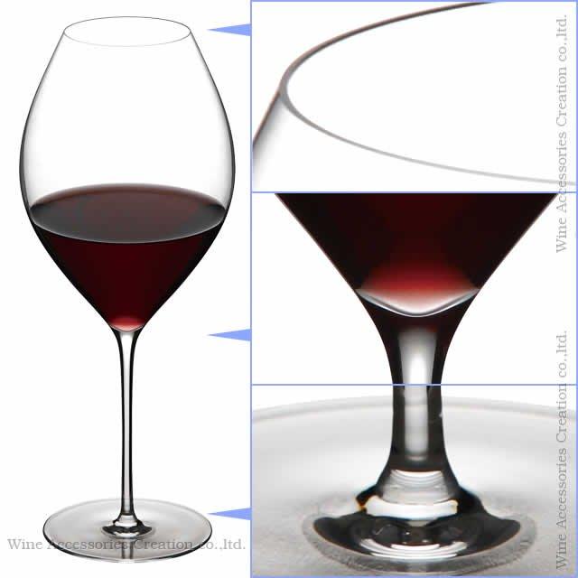 WINEX/HTT アデル レッドワイン グラス 1脚【正規品】 GH315KC