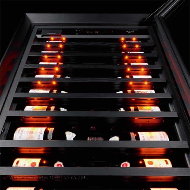 【受注発注4ヶ月以上】ユーロカーブ Royale ロワイヤル 122本+マグナムボトル2本用 ガラス扉 ヴィンテージコルク抜き「ザ・デュランド」(WACロゴ入り)プレゼント中!
