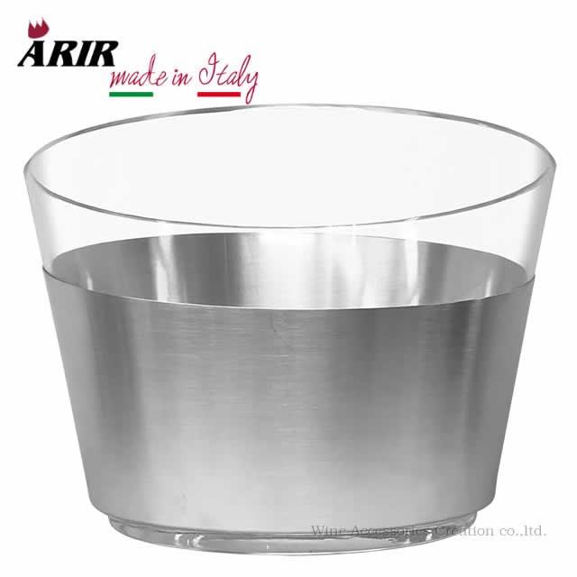ARIR アルミ&アクリル ワインクーラー4本用 LC390AC