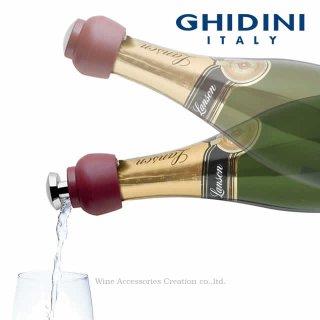 GHIDINI ギディニ マッシュルーム シャンパンストッパー&ポアラー BG828RE