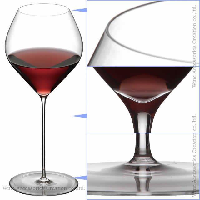 WINEX/HTT ソフィア レッド&ホワイトワイン グラス 2脚セット【正規品】 GH308-9KC