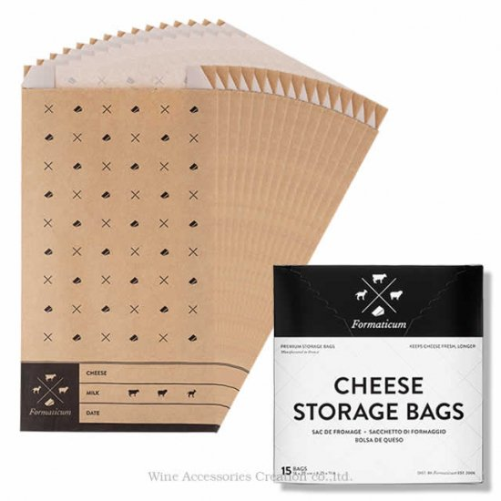 CHEESE STORAGE BAGS チーズバッグ(15枚入り)  YF010BG