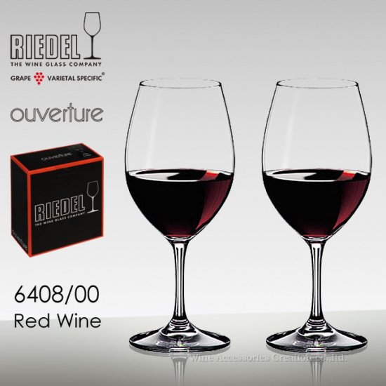 リーデル オヴァチュア レッドワイン 2脚セット【正規品】 6408/00-2_box