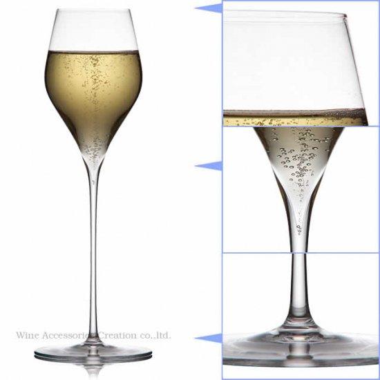 木村硝子店 PIVO ピーボ オーソドックス シャンパン 245 グラス 1脚【正規品】 GP307KC