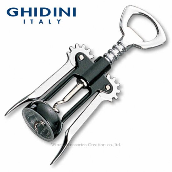 GHIDINI ギディニ スパイラルウイング オープナー ブラック CF002BK