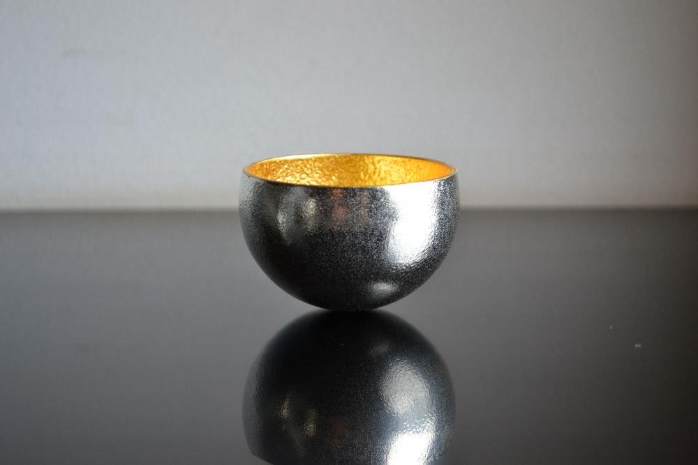 能作 錫盃 Kuzushi-Yure ミニ 金箔
