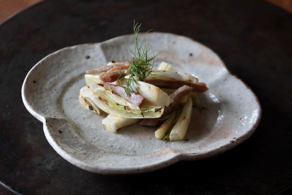 工藤和彦 白樺ホワイト 木瓜皿