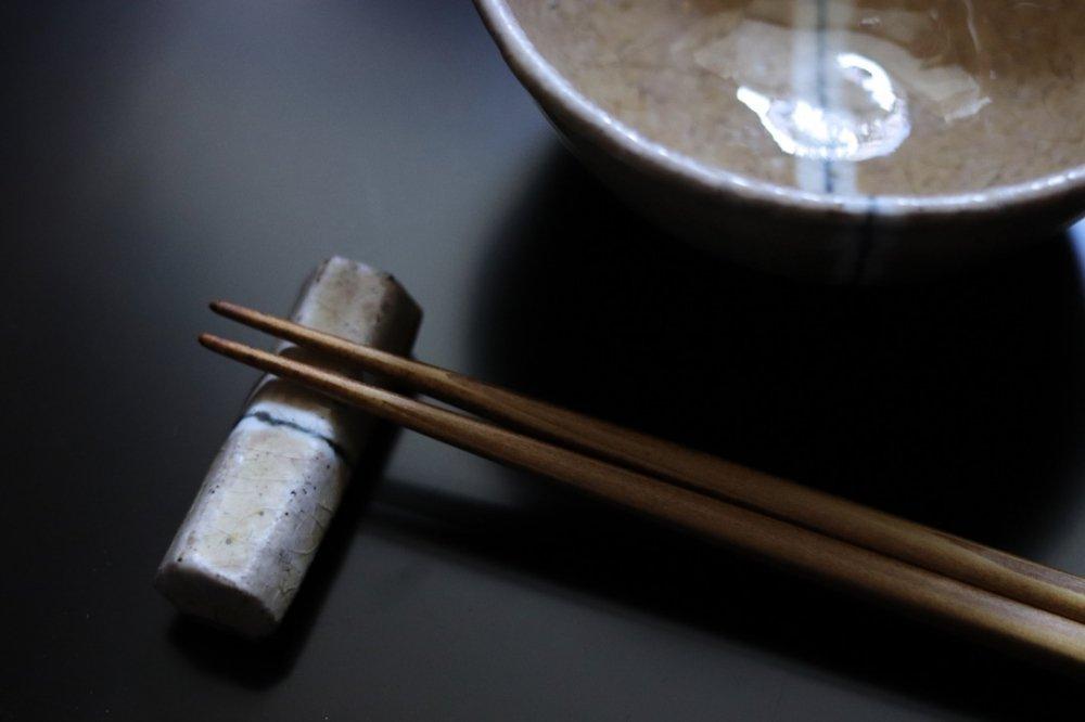 杉本太郎 箸置き(黄)