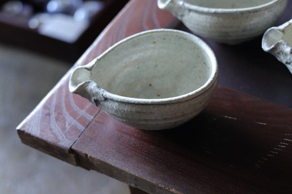 工藤和彦 白樺ホワイト 片口小鉢