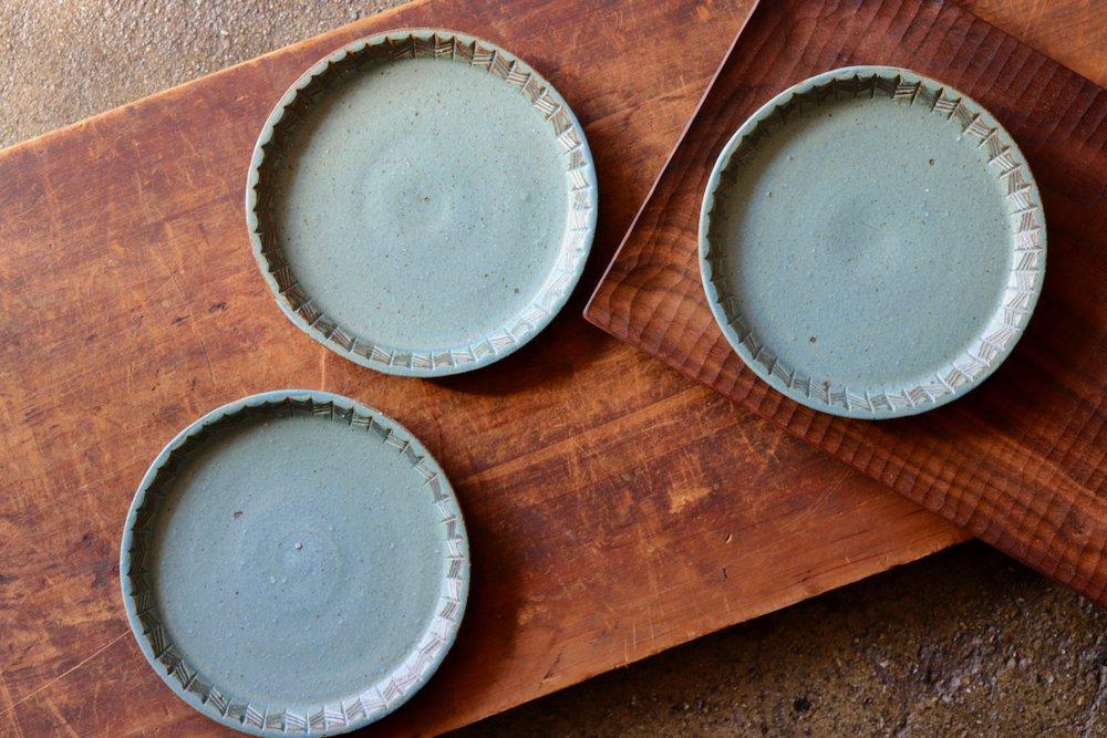 タナカマナブ 5寸皿−1