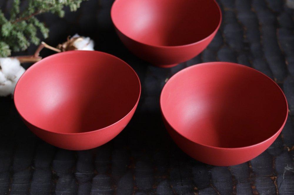 山田晶 猩々緋 小ドンブリ鉢
