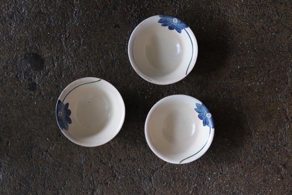 大谷桃子 青いハスの花飯碗
