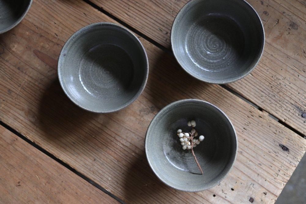 タナカマナブ 4寸しのぎ鉢−1