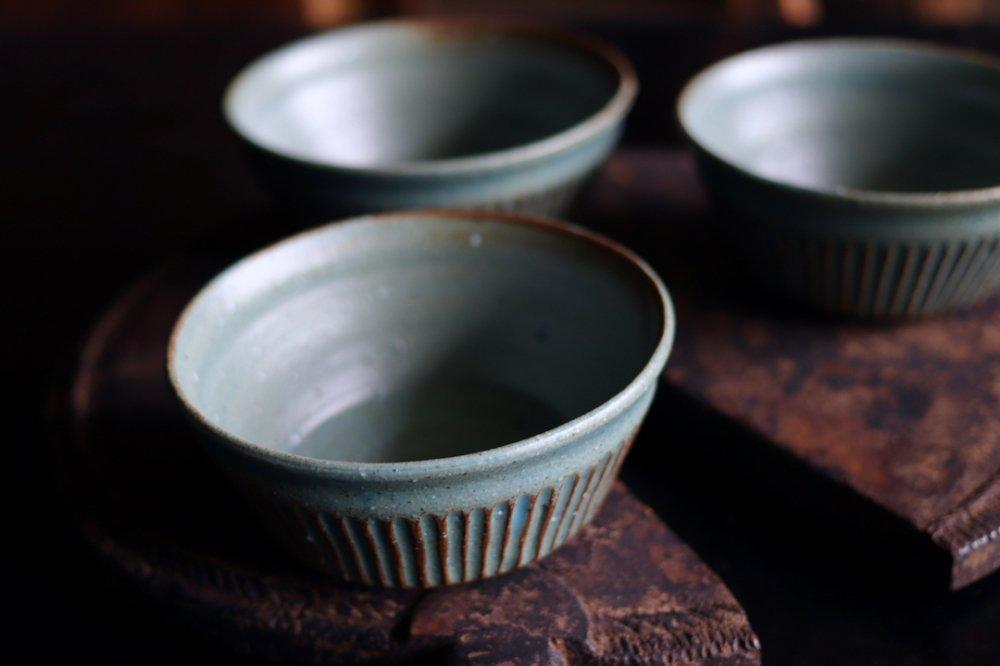 タナカマナブ 4寸しのぎ鉢−2