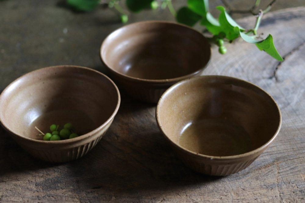 タナカマナブ 4寸しのぎ鉢−3