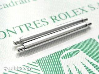 ロレックス純正20mm バネ棒 SWISS 正規品 EX� エクスプローラーI 2本1セット 未使用の保管品 1016 6610
