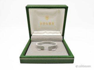 ロレックス純正 ボックス 正方形タイプ内箱 ローヤル スピードキング 手巻き用 ブレスレット仕様 1940後半〜1950年代