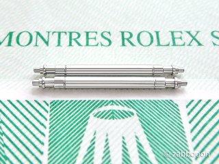 ロレックス純正 NEW 新型 バネ棒20mm 2本1セット デイトジャスト エクスプローラーI ミルガウス デイトナ ヨットマスター 市場入手困難 未使用 SWISS輸入品