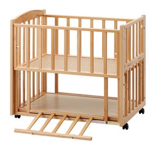 ツーオープンベッド b-side(ビーサイド) ミニ SS型 ナチュラル