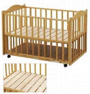 サークル兼用ベッド 床板すのこベッド L型 内寸70×120cm