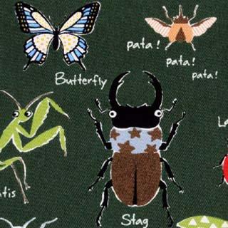 昆虫 ツイル コットンこばやし|グリーン