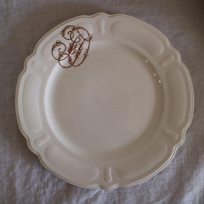 Antique アンティーク ディナープレート  CHOISY LE ROI  ショワジー ル ロワ  Louis �� 24cm
