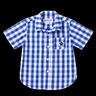 キッズ チェックシャツ・全3色