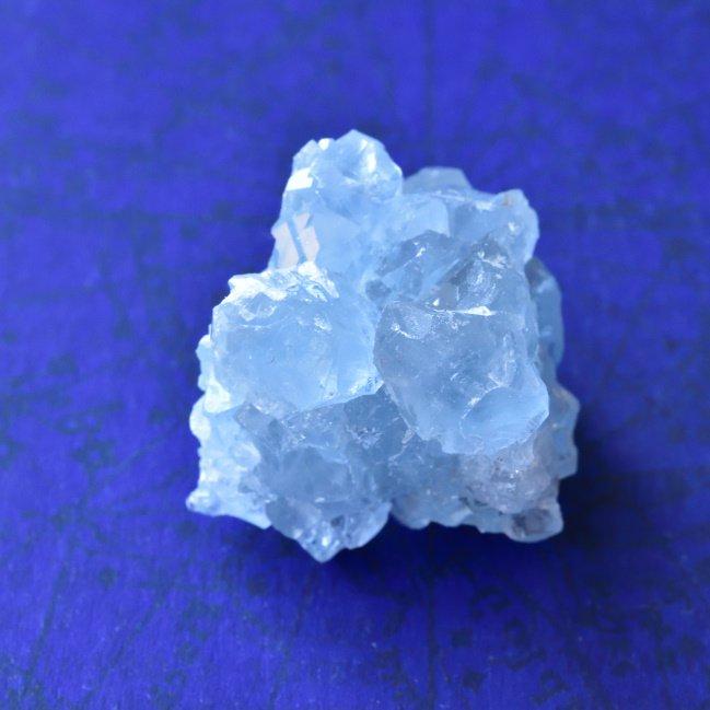 セレスタイト・クリスタル マダガスカル産 20g/鉱物・結晶原石