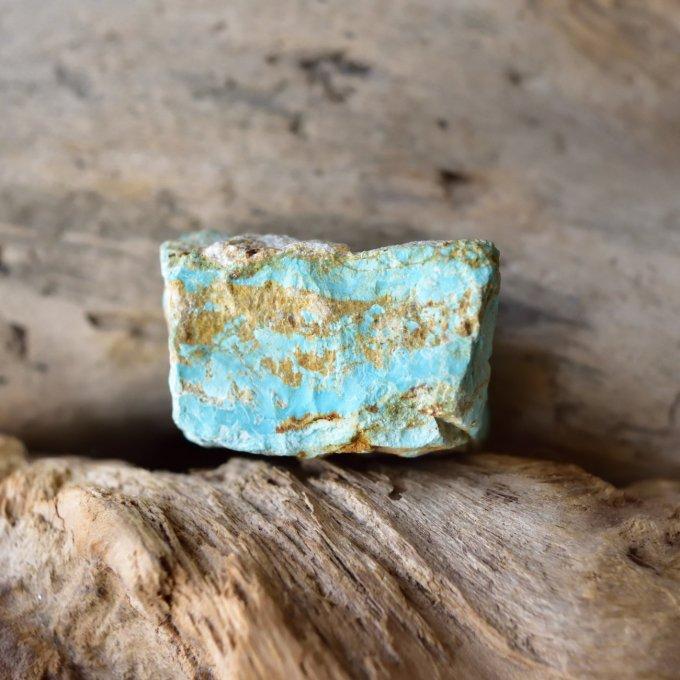 ナチュラルターコイズ トルコ石 イラン産 32g/鉱物・原石