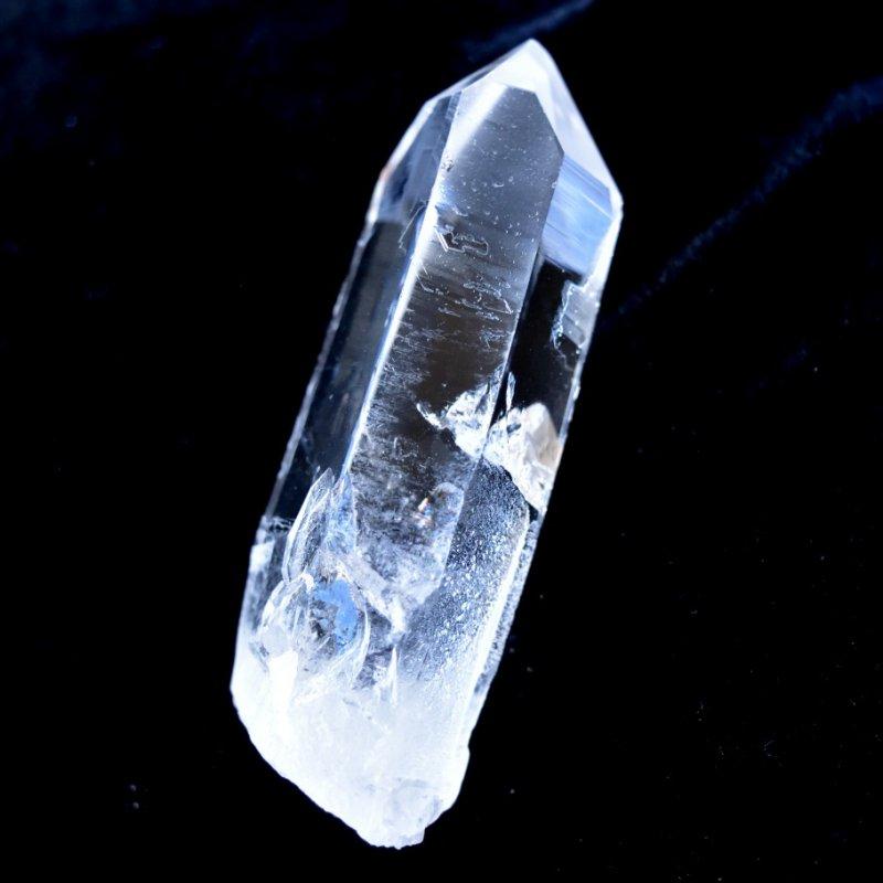 スターシード/スターブラリー・クォーツ Corinto ブラジル・ミナスジェライス州産 61g/ クリスタル・ポイント水晶