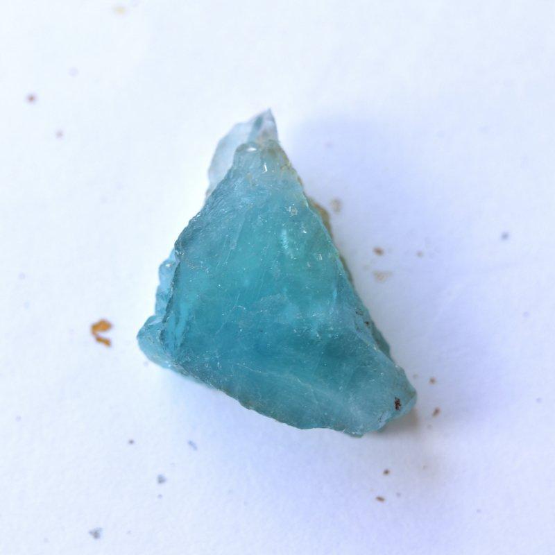 ブルーフローライト(蛍石) ラムネ色 ドイツ・黒い森産 23.6g/ 鉱物・原石