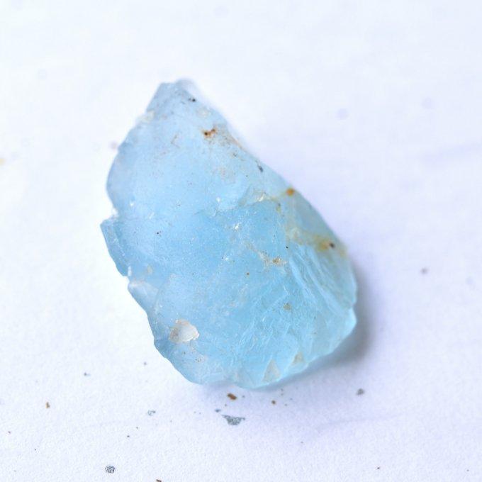 ブルーフローライト(蛍石) ラムネ色 ドイツ・黒い森産 22.2g/ 鉱物・原石