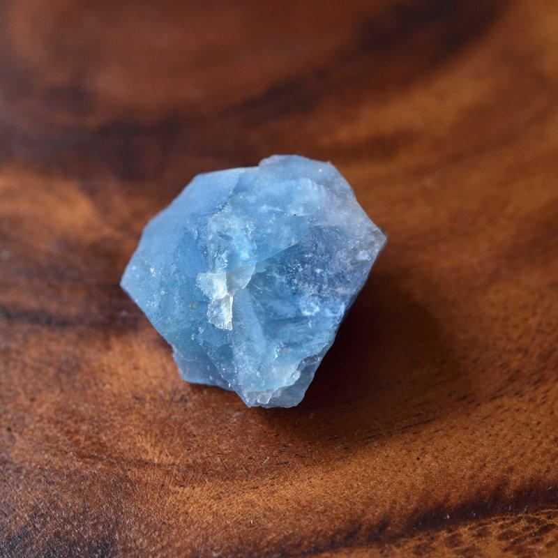 ブルーフローライト(蛍石) セルリアンブルー ドイツ・黒い森産 13.6g/ 鉱物・原石