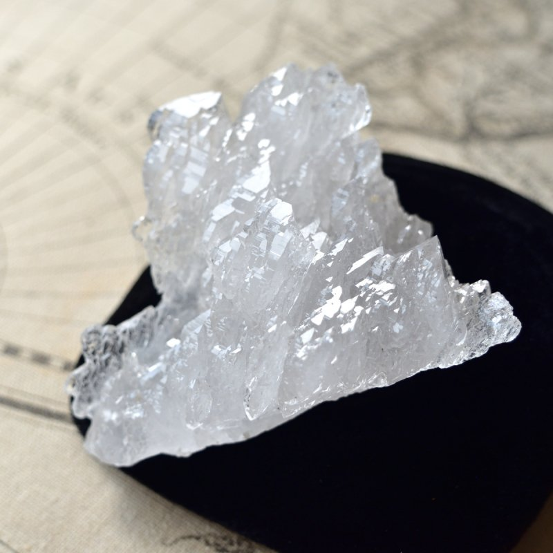 メル・クリスタル Sarasvati グウィンデル・再結晶水晶 インド・リシケシュ産 235g/ クリスタル・ヒマラヤ水晶