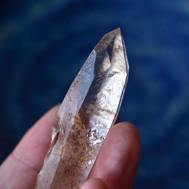 モンドクォーツ ダイヤモンドウィンドウ セイクラルチャクラ タンザニア産 26g/ ポイント水晶・クリスタル