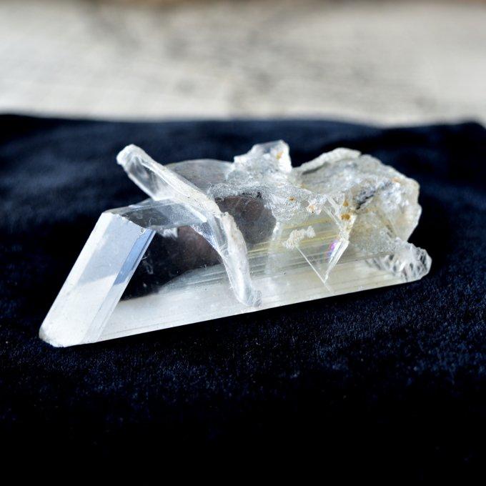 セレナイト シンギング・クラスター メキシコ・ナイカ産 64.5g/ 鉱物・結晶原石