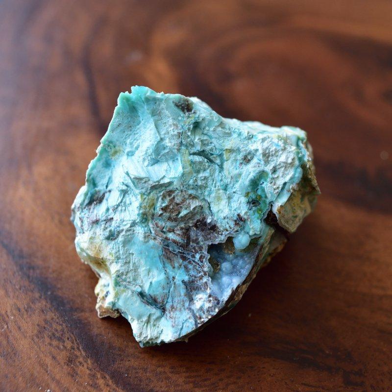 珪化木 コラウッド 結晶入り! ジェムシリカ トルコ産 29g/ フォッシル・ペトリファイドウッド