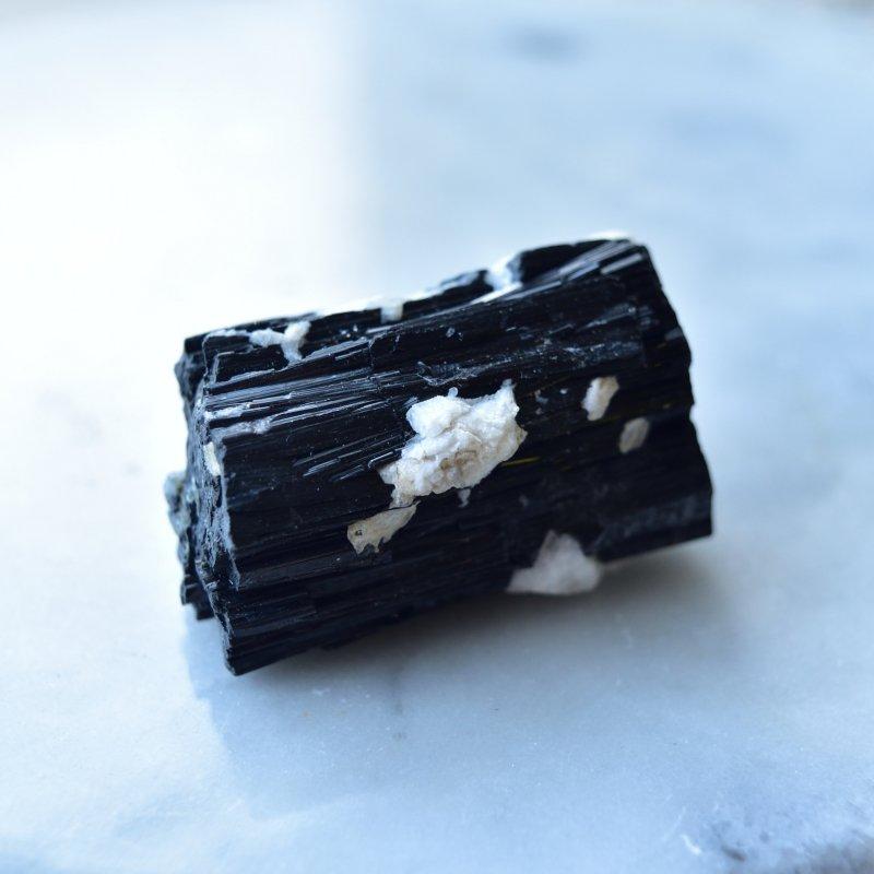 ブラックトルマリン ショール パキスタン産 63g/ 鉱物・原石