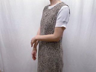Python Sleeveless Long Dress