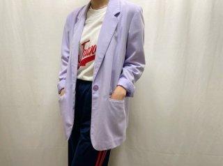 80s- Lavender Tailored Light Jacket
