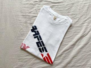 80s White AAFES Print Tee