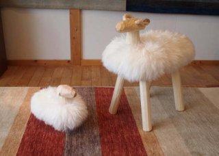 木の羊(小)