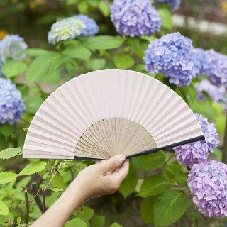 662 日本の伝統色 灰桜(はいざくら)<扇子>