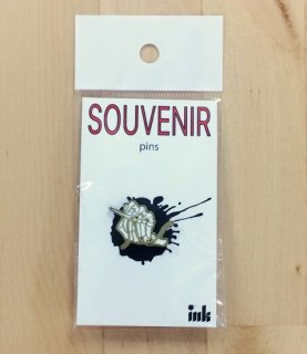ink (インク) / SOUVENIER PINS / SEWING HAND / ピンズ / お土産 / 古着 / リメイク / グッズ